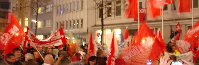 14N Demo Düsseldorf
