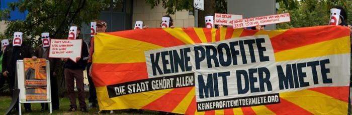 Pressekonferenz vor LEG - Keine Profite mit der Miete!